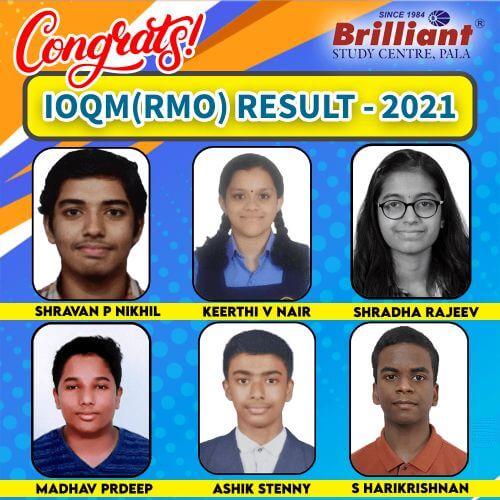 IOQM(RMO) RESULT 2021